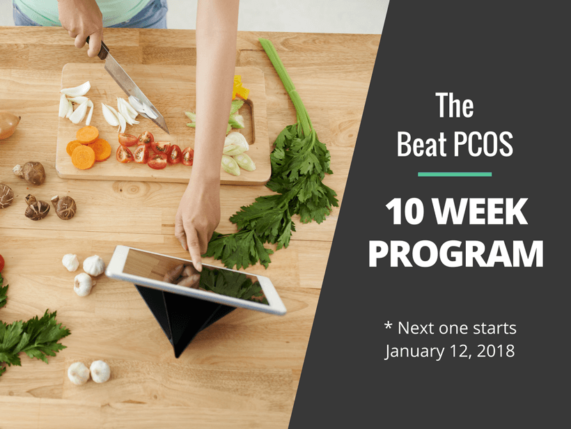 The Beat PCOS 10 Week Program with Kym Campbell   January 2018