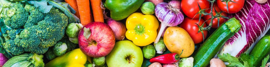 Fresh Vegetables are great for a PCOS Diet
