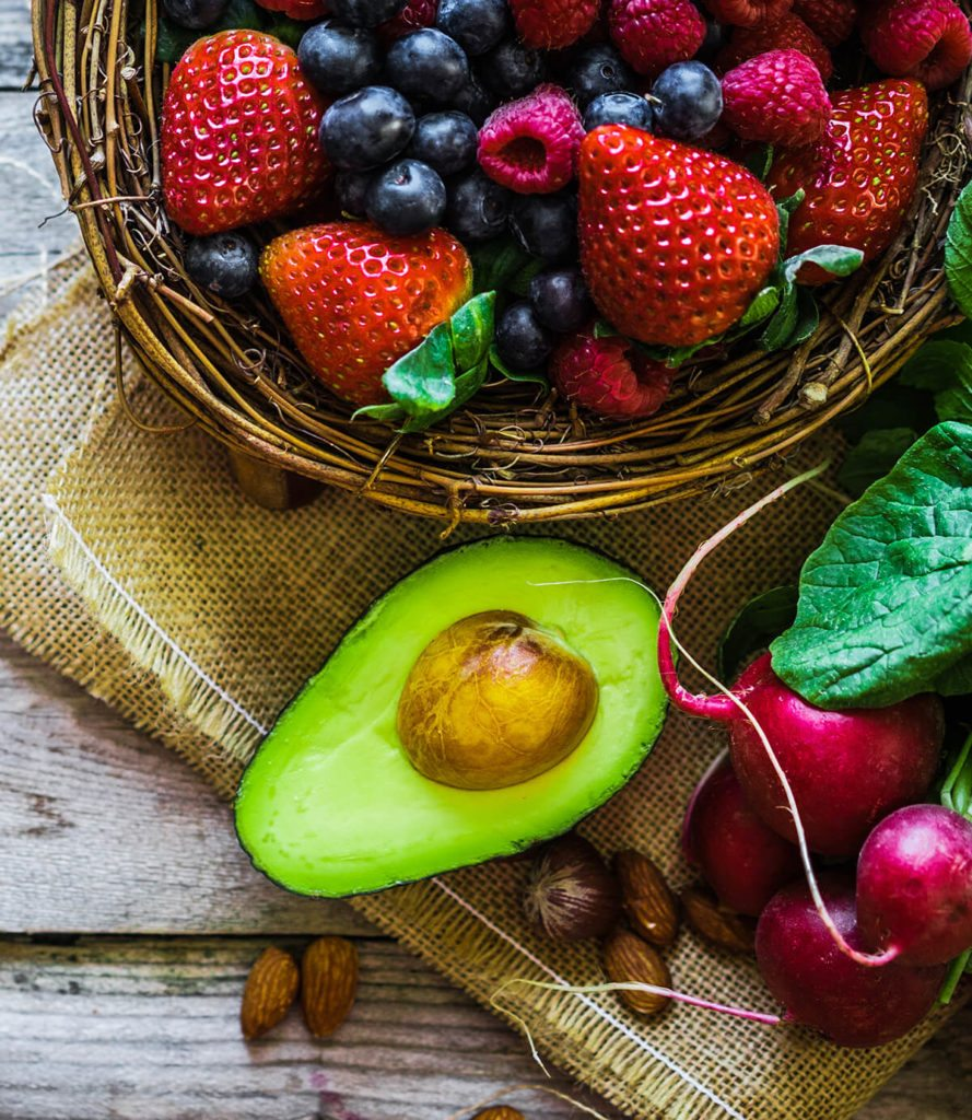 Avocado and Berries are great for a PCOS Diet