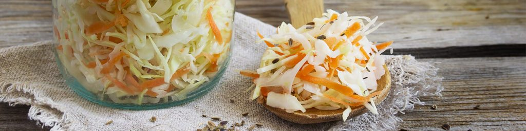 Add sauerkraut to your PCOS Diet for your gut health