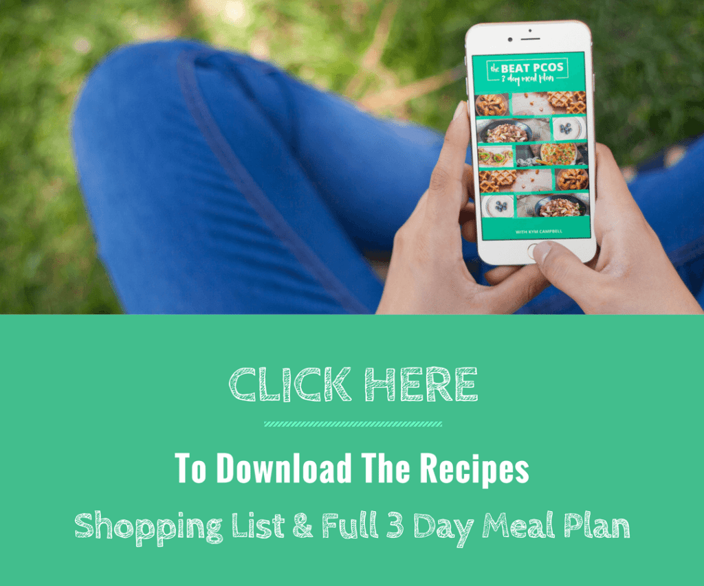 Download 3 Day Meal Plan | Smart Fertility Choices