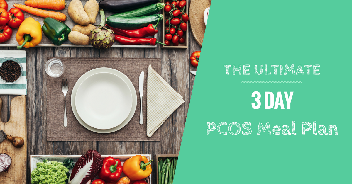 3-Day PCOS Meal Plan, Recipes + Shopping List - For Weight ...
