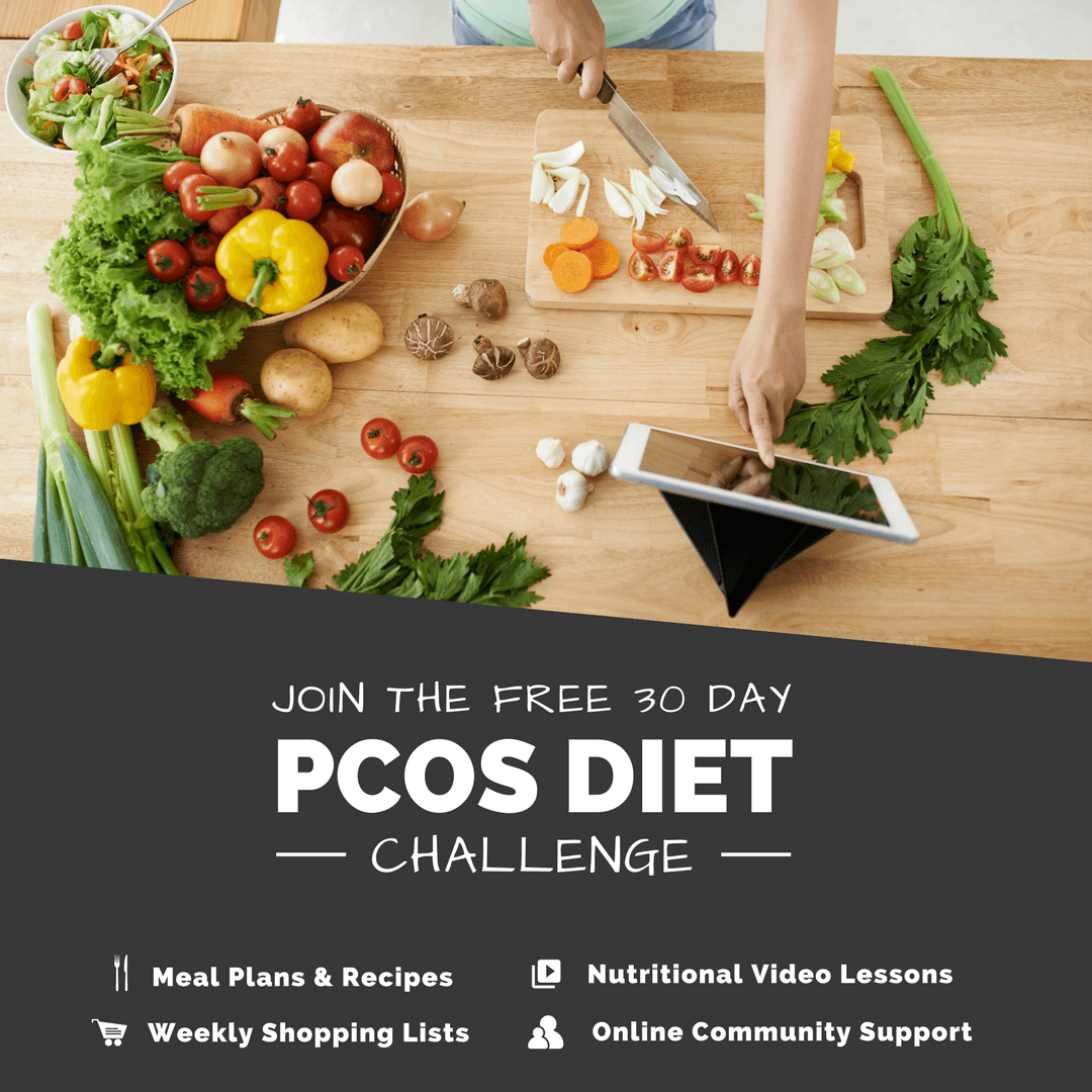 Join the free 30 Day PCOS Diet Challenge | Smart Fertility Choices