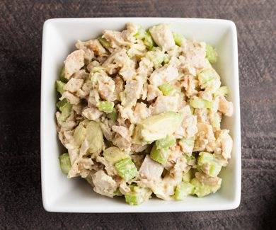 PCOS Meal Plan Curried Chicken Salad | Smart Fertility Choices