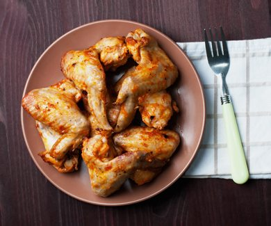 PCOS Meal Plan Garlic Ginger Chicken Wings | Smart Fertility Choices