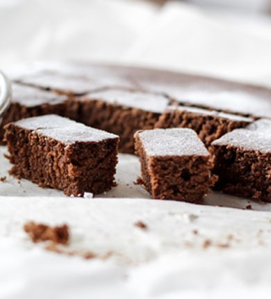 Guilt Free PCOS Friendly Brownies by Smart Fertility Choices
