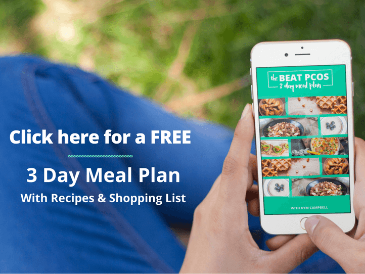 3 Day PCOS Diet Meal Plan