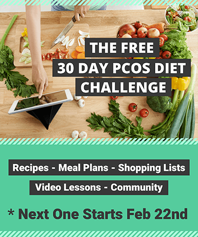 The Free 30 Day PCOS Diet Challenge with Kym Campbell