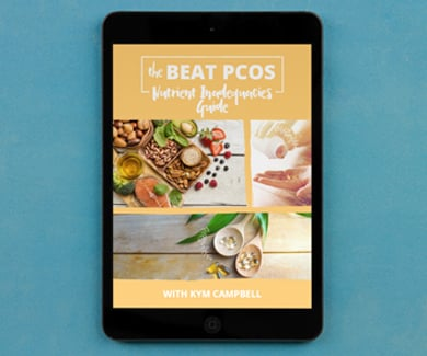 The Beat PCOS Nutrient Inadequacies Guide by Smart Fertility Choices