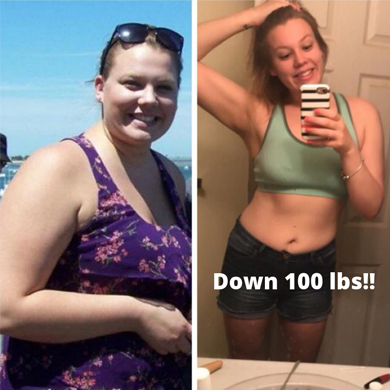Kendall Weight Loss PCOS Success Story