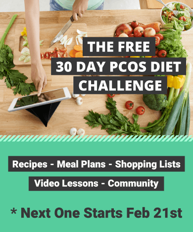 Free 30 Day PCOS Diet Challenge