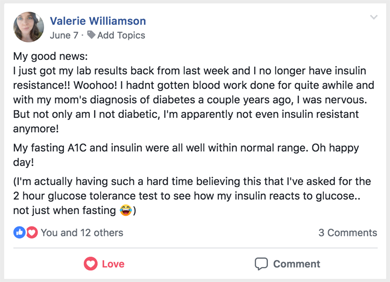 Valerie Williamson PCOS Success Story