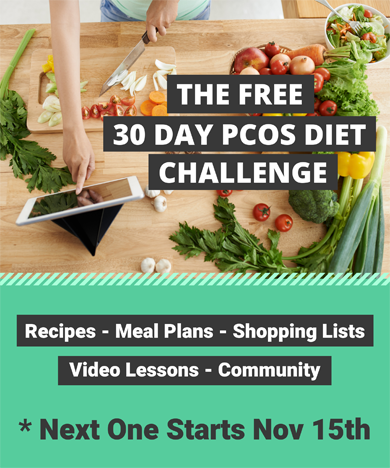 Free 30 Day PCOS Diet Challenge with Kym Campbell